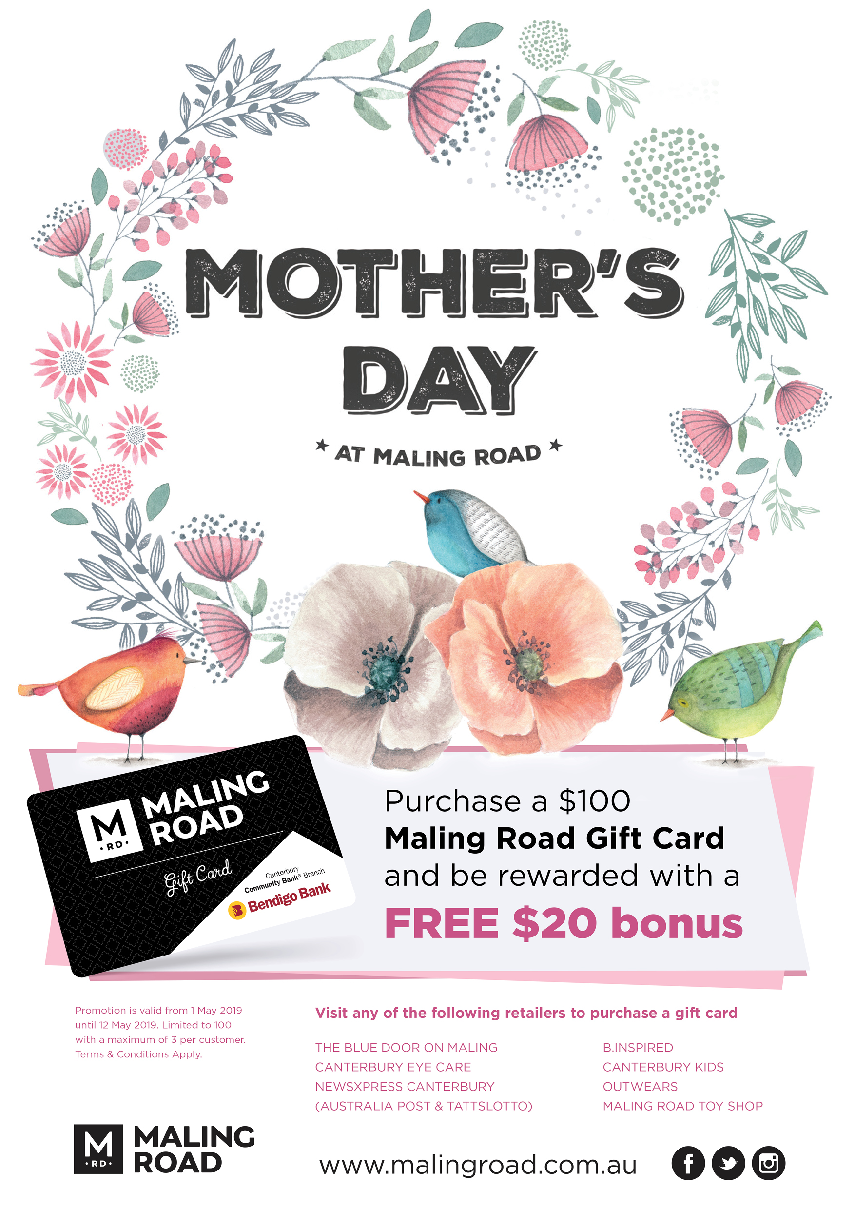 Mother's Day in Maling Road - Maling Road