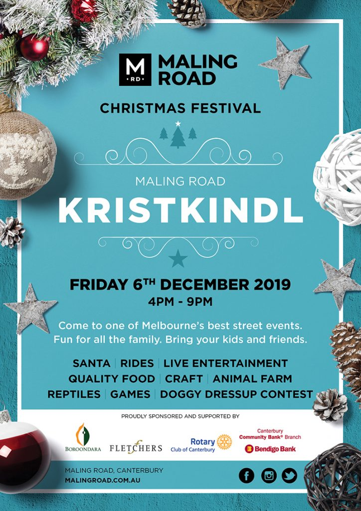 Maling Road Christmas Festival Kristkindl