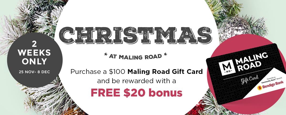 Christmas at Maling Road