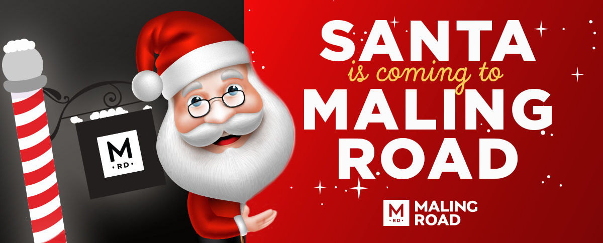 Santa is visiting Maling Road