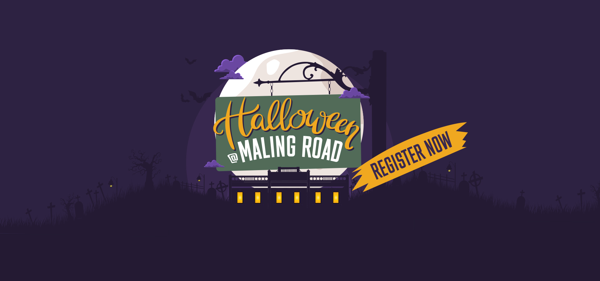 Maling Road Halloween-Home Banner
